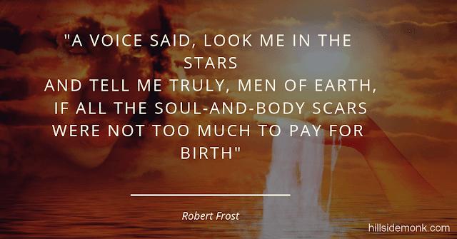 Robert Frost Short Poems-A Question