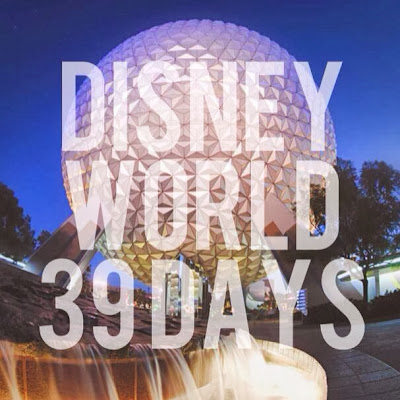 Disney World Countdown 39 Days