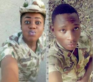 Disturbing Photo: See Courpes Of Military Personel Who Was Murdered By Her Boyfriend 1