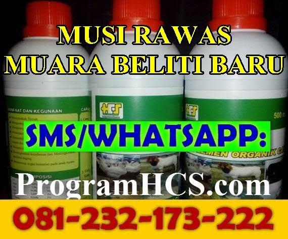 Jual SOC HCS Musi Rawas Muara Beliti
