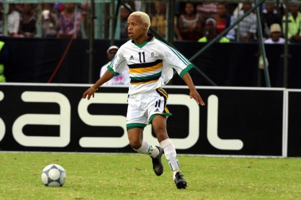 Former Kaizer Chiefs and Bafana Bafana football star Thabiso Malatsi now a musician