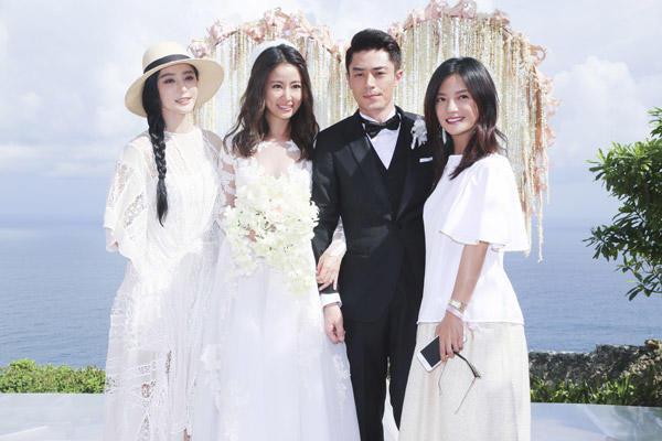 Ruby Lin Wallace Huo Bali Wedding 2016