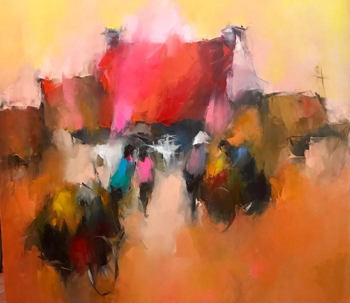 Талантливый и творческий художник. Hoang Nghia Hiep 3