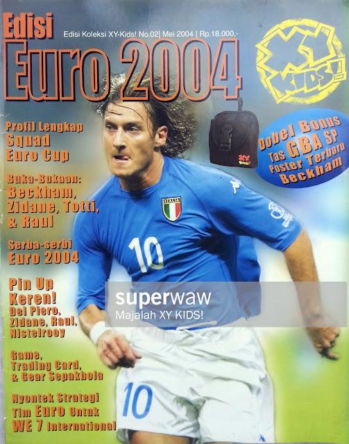 FRANCESCO TOTTI ITALY 2002