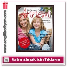Anneye Özel Dergi Kapağı