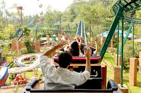 Wahana permainan taman safari