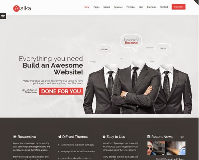 Aaika - Multipurpose Drupal Theme