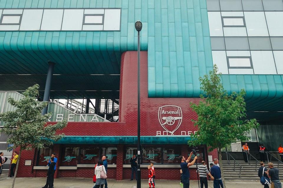 エミレーツ・スタジアム(Emirates Stadium) 入り口