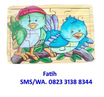 Game Puzzle Hewan Little Bird