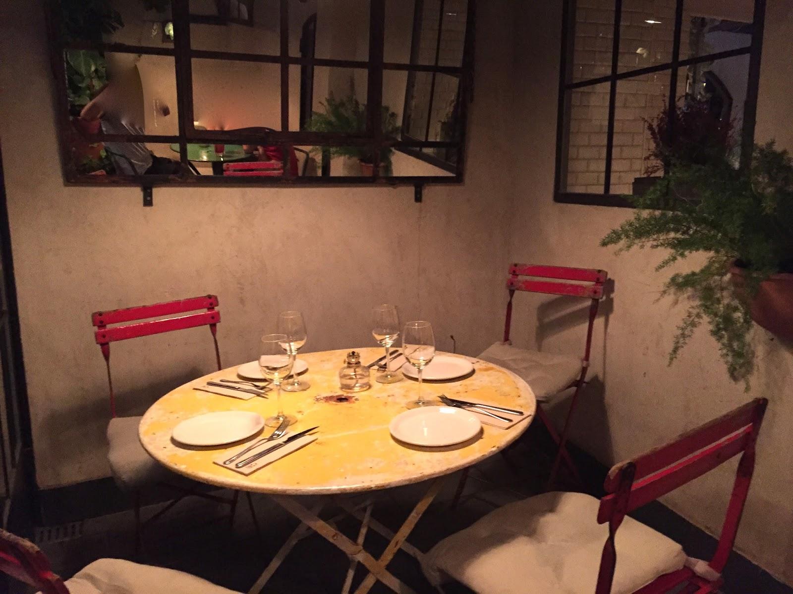 Estamostendenciados restaurante la pescader a un for Restaurante la mucca madrid calle prado