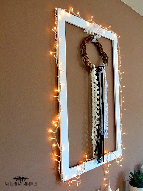 christmas-lights-on-wooden-frame