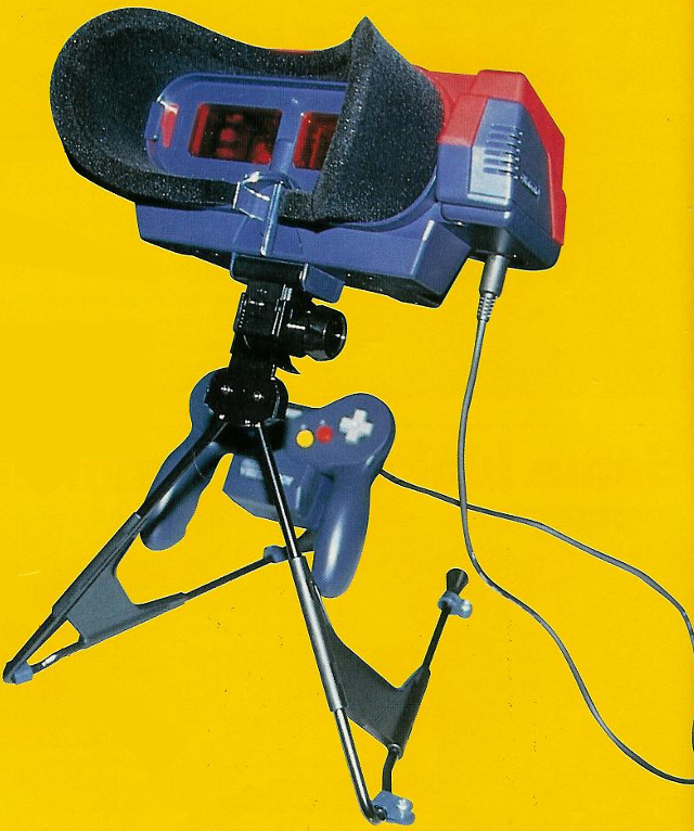 Prototipo Virtual Boy (CES1995)