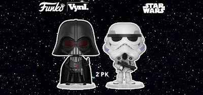 Star Wars Darth Vader & Stormtrooper Vynl Vinyl Figure 2 Pack by Funko