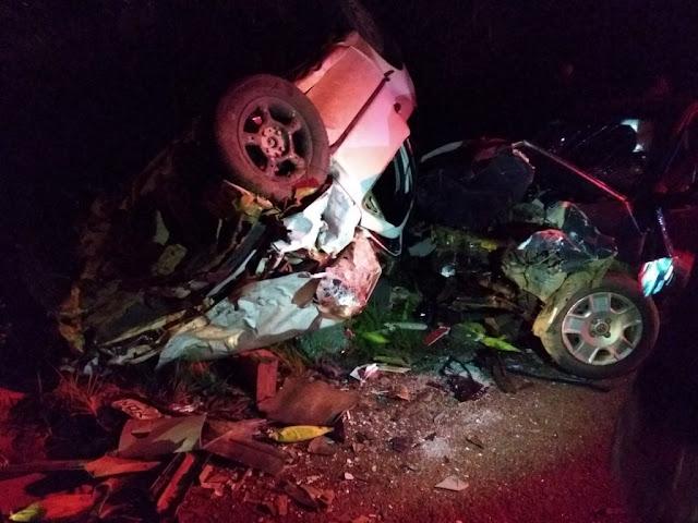Sobe para 4 o número de vítimas mortas em trágico acidente na BR 364 em Rondônia