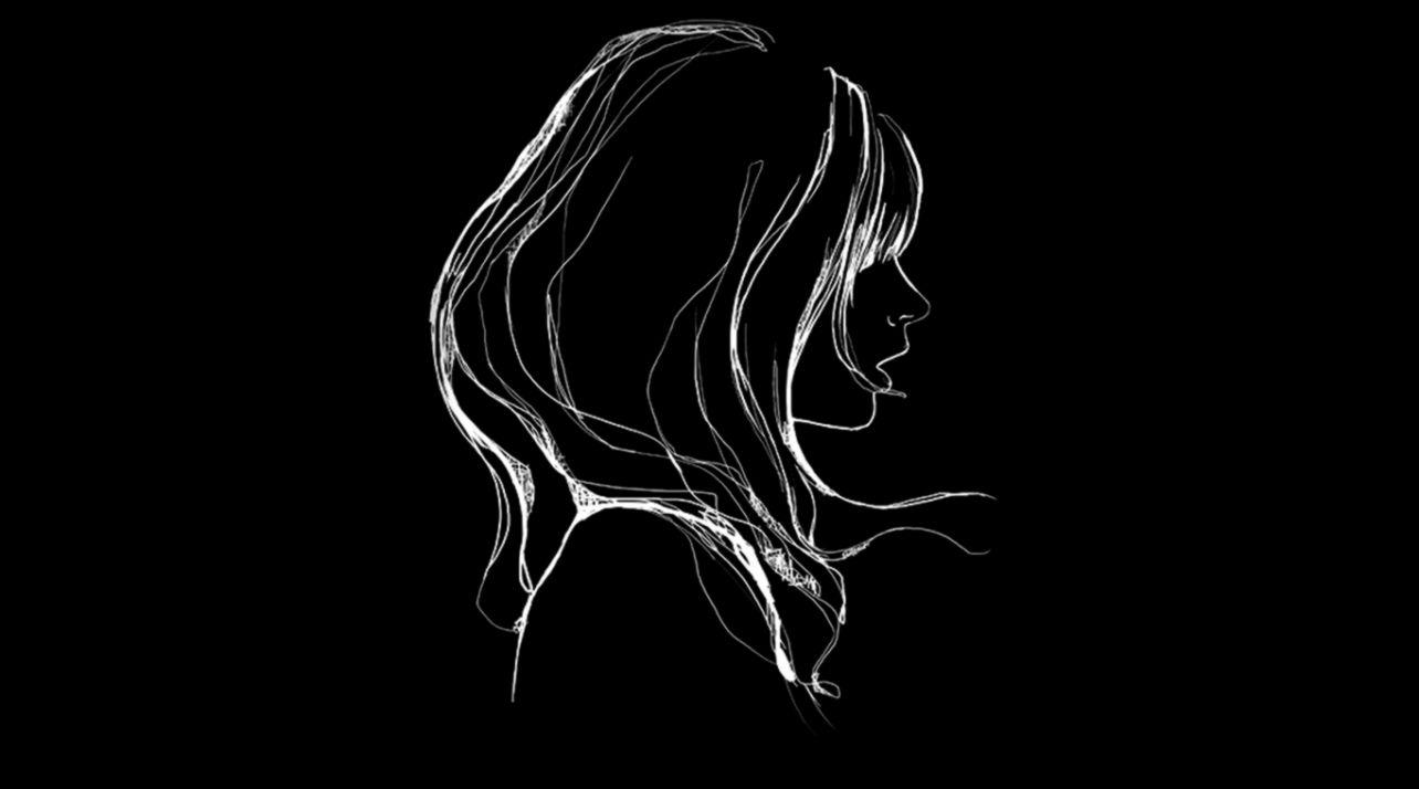 wallpaper for desktop laptop az88 drawing simple minimal girl