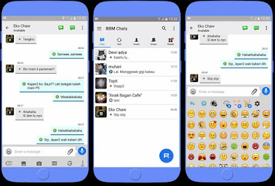 BBM MOD iOS Versi Terbaru v3.2.2.8 APK Update 2017