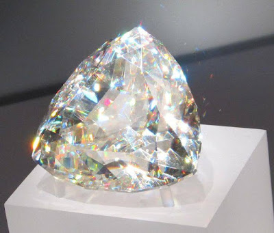 The largest cut Cerussite Gemstone in the world, The World's Largest Crystals I