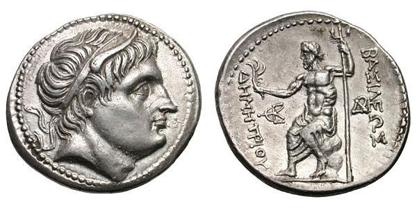Tetradracma de Demetrio Poliorcetes
