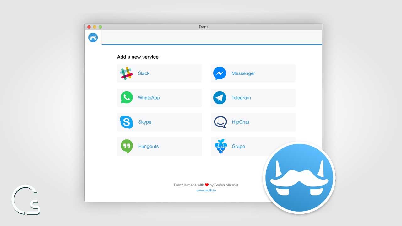 برنامج meetfranz لأجهزة ماك و ويندوز لفتح 8 تطبيقات دردشة من مكان واحد 2