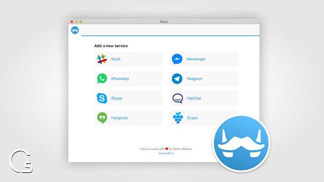 برنامج meetfranz لأجهزة ماك و ويندوز لفتح 8 تطبيقات دردشة من مكان واحد