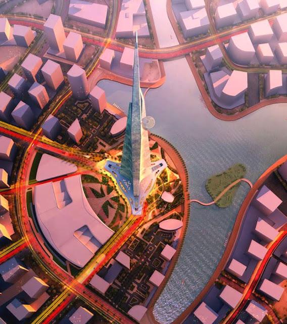 projeto prédio mais alto do mundo