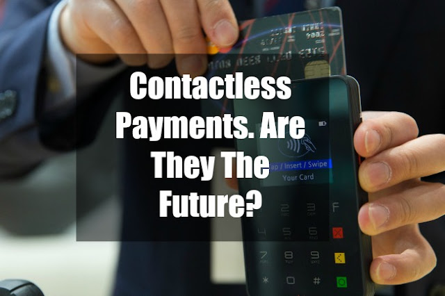 contactless-payments-are-they-the-future-text-on-image-of-card-held-next-to-card-reader
