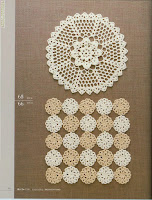 Centrinhos de Crochê Com Gráfico 21 - Com Minimotivos