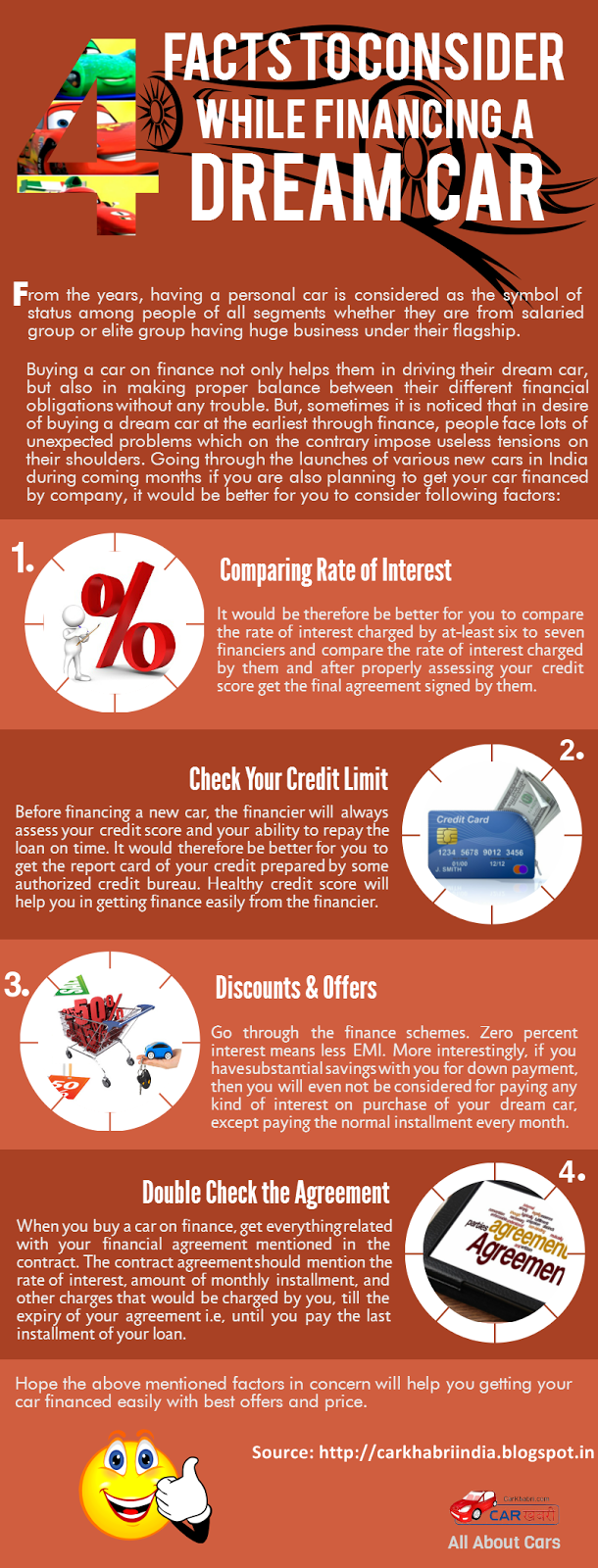 Infographic: Car Financing Tips