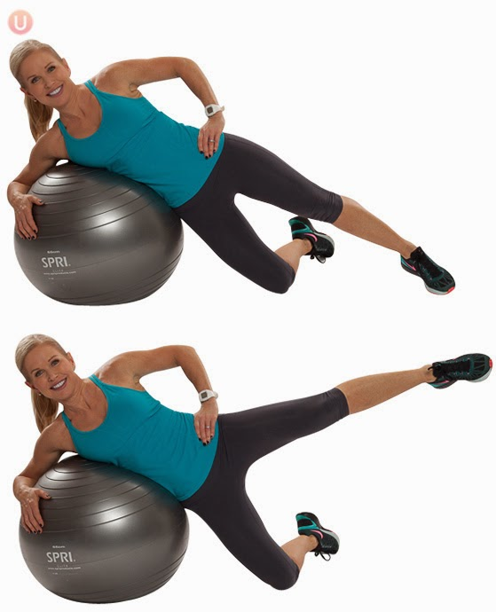 Stability Ball Hamstring Curl T Nation: The Pilates Hundred: Stability Ball Strength Circuit