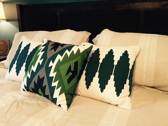 taregt aztec pillows