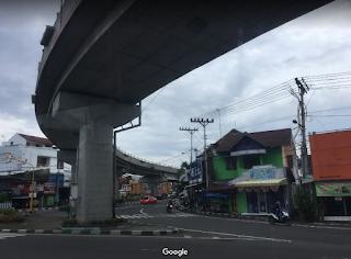 Cara Pesan dan Naik Gojek Grab di Fly Over Janti Yogyakarta