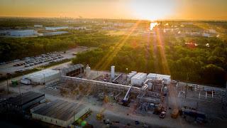 NET Power's Demonstration Plant in La Porte, Texas. (Credit: PRNewsfoto / NET Power, LLC) Click to Enlarge.