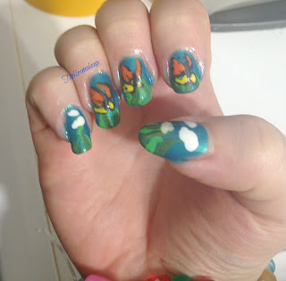 monarch_butterflies_nail_art