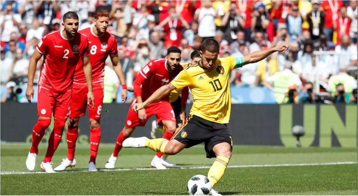 Hasil Belgia vs Tunisia Skor Akhir 5-2 | Fase Group G World Cup 2018