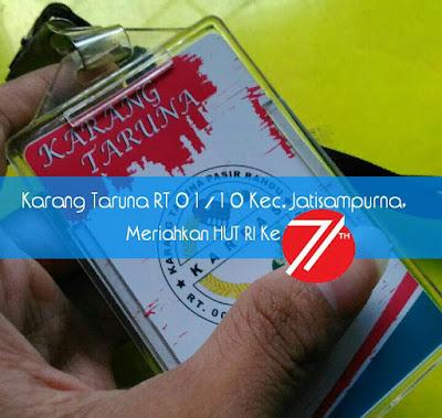 Karang Taruna RT 01/10 Kec. Jatisampurna, Meriahkan HUT RI Ke 71