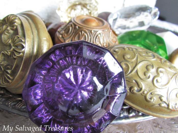 My Salvaged Treasures: Vintage Door Knob Love