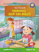 AJIBAYUSTORE  Judul Buku : Seri Tematik Makananku Sehat Dan Bergizi 4I     Kelas IV SD