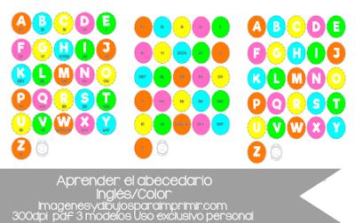 abecedario en inglés y pronunciación en pdf
