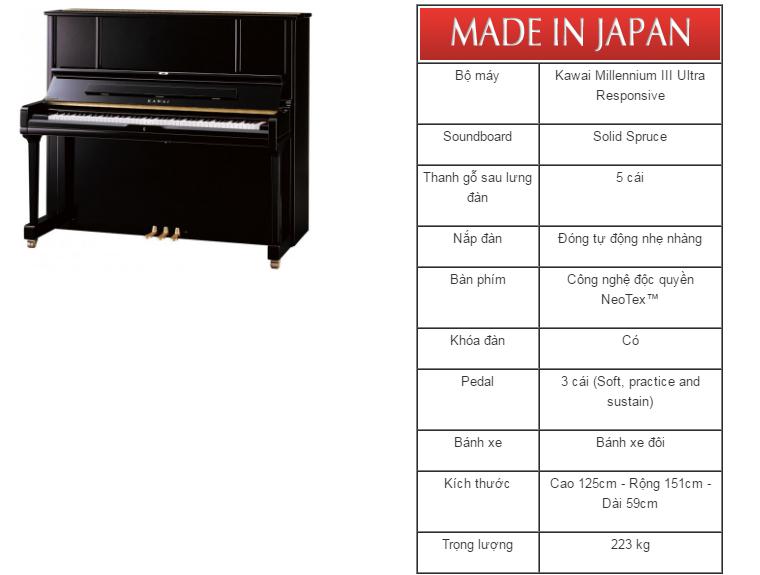 dan piano kawai k-5