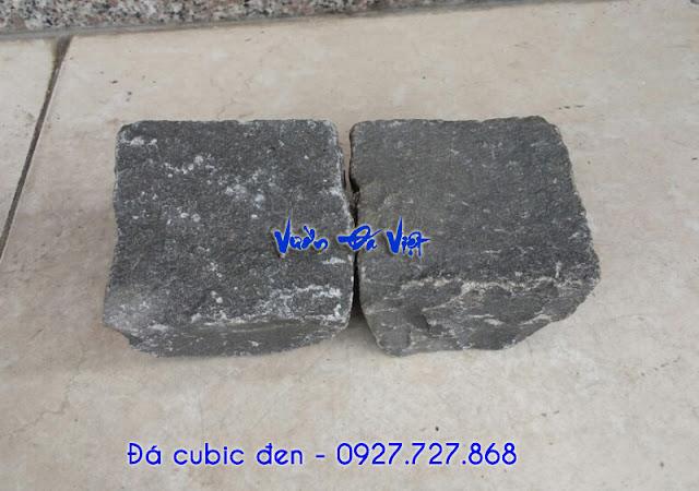 Đá cubic đen 10x10x8