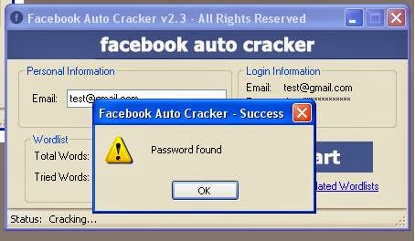 Facebook password cracker apk