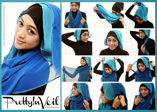 Model jilbab paris terbaru 2015 dan cara memakainya