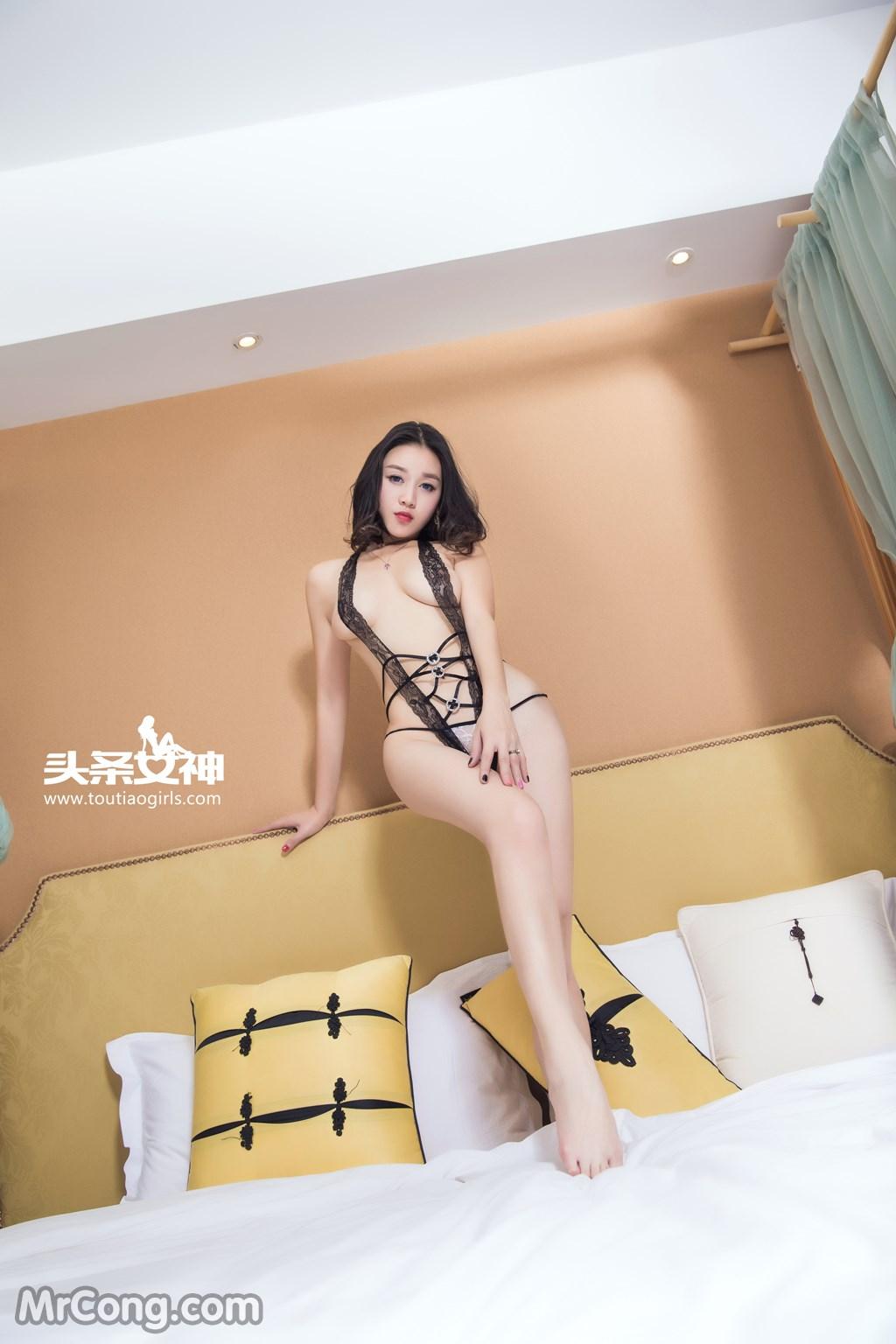 Image MrCong.com-TouTiao-2016-12-14-Zhang-Zi-Ran-002 in post TouTiao 2016-12-14: Người mẫu Zhang Zi Ran (张梓然) (24 ảnh)