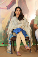 Actress Rakul Preet Singh Stills in Blue Salwar Kameez at Rarandi Veduka Chudam Press Meet  0012.JPG