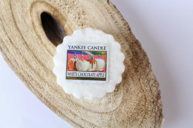 avis white chocolate apple yankee candle, blog bougie, blog parfum, blog beauté