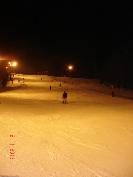 ski pe nocturna