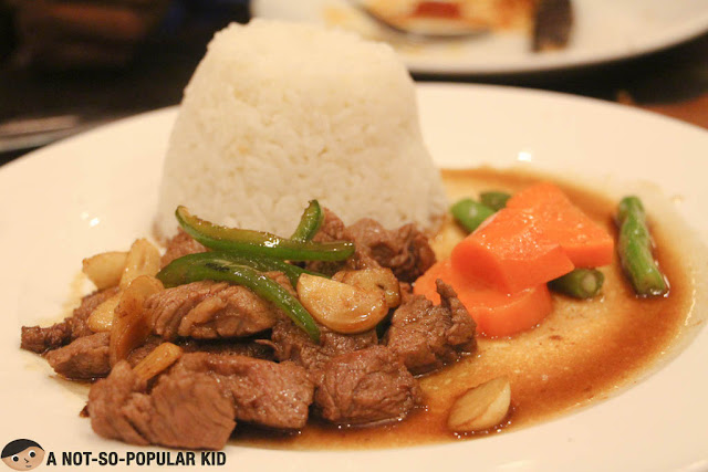 Beef Salpicao in Mama Lou's