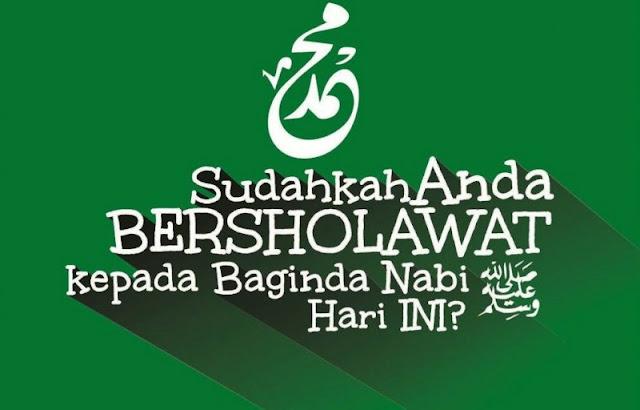 beberapa bacaan shalawat nabi