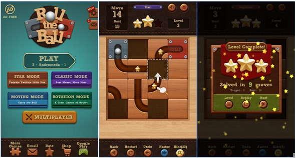 Roll the Ball, Game Puzzle Android Jadikan Saat Santai Lebih Menyenangkan