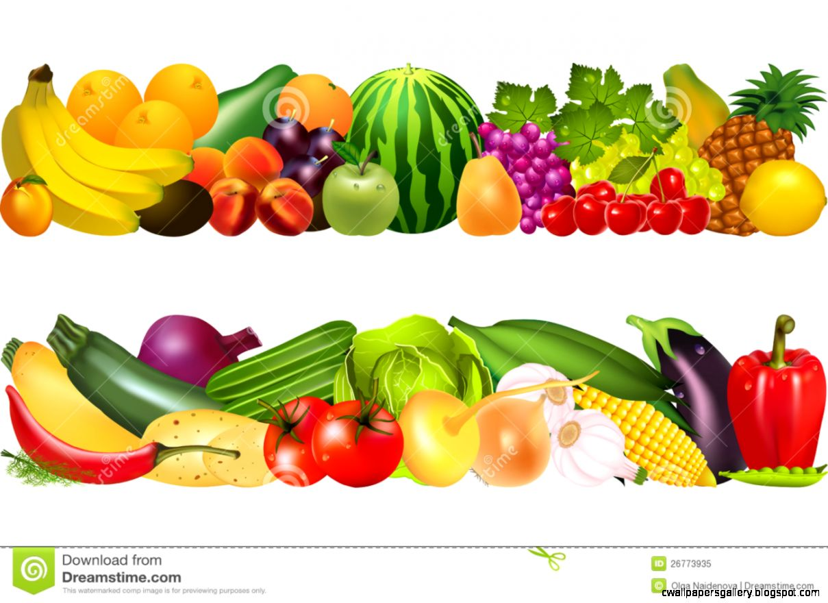 Fruit And Vegetable Clip Art | Wallpapers Gallery